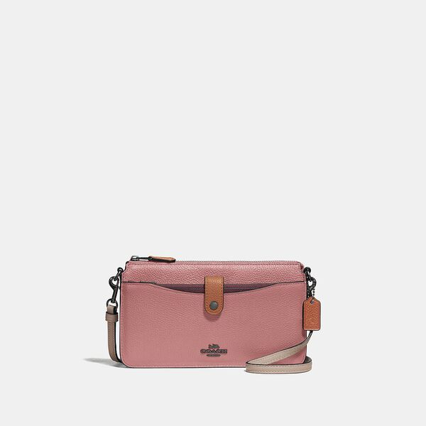 Noa Pop-Up Messenger In Colorblock, V5/VINTAGE PINK MULTI, hi-res