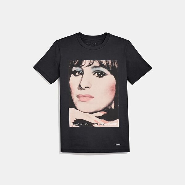 Coach X Richard Bernstein T-Shirt With Barbra Streisand