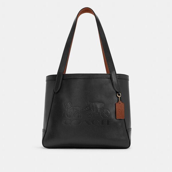Horse And Carriage Tote With Horse And Carriage
