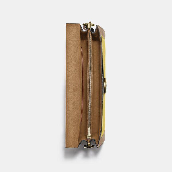 Tabby Shoulder Bag 26 In Colorblock, B4/NATURAL YELLOW MULTI, hi-res