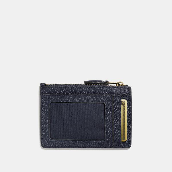 Mini Skinny Id Case, LI/NAVY, hi-res