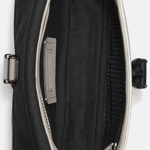 Pacer Belt Bag In Signature Canvas With Coach Patch, JI/CHALK/MANGO, hi-res