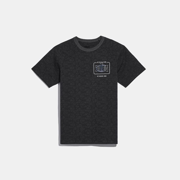 Coach X Champion Embellished Signature T-Shirt
