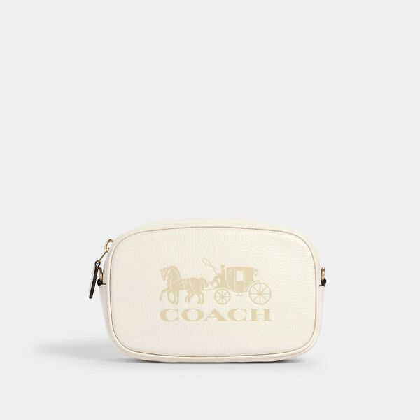 Convertible Belt Bag With Horse And Carriage