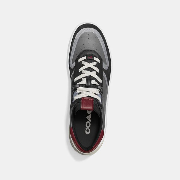 Citysole Court Sneaker In Colorblock, WASHED STEEL BLACK, hi-res