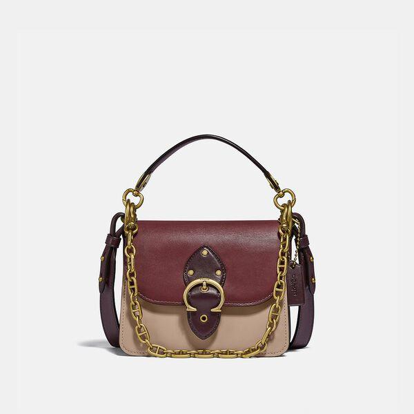 Beat Shoulder Bag 18 In Colorblock, B4/WINE MULTI, hi-res