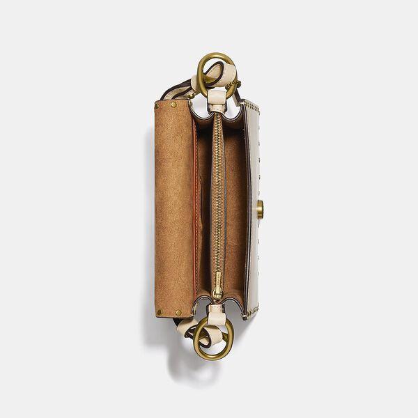 Beat Shoulder Bag 18 With Rivets, B4/IVORY, hi-res