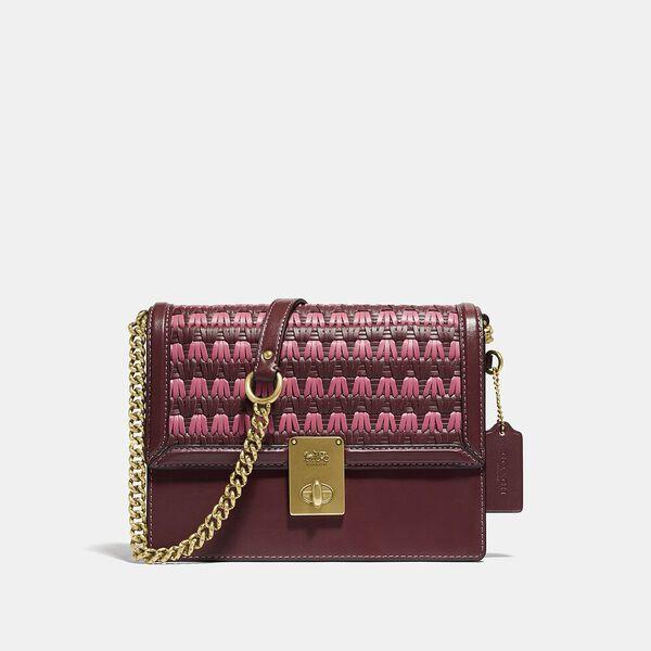 Hutton Shoulder Bag With Weaving