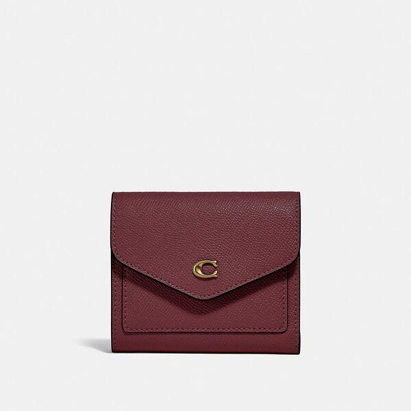 Wyn Small Wallet, B4/WINE, hi-res