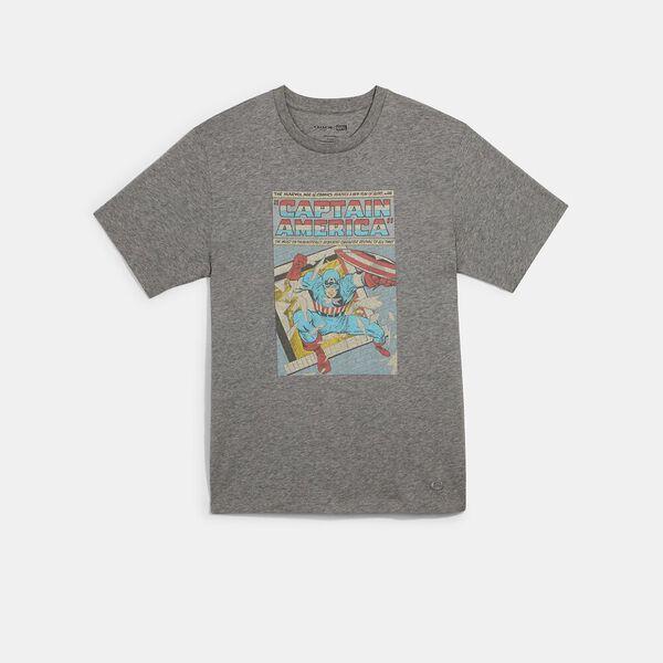 Coach x Marvel Captain America Comic T-Shirt