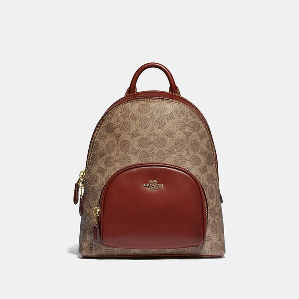 Carrie Backpack 23 In Signature Canvas
