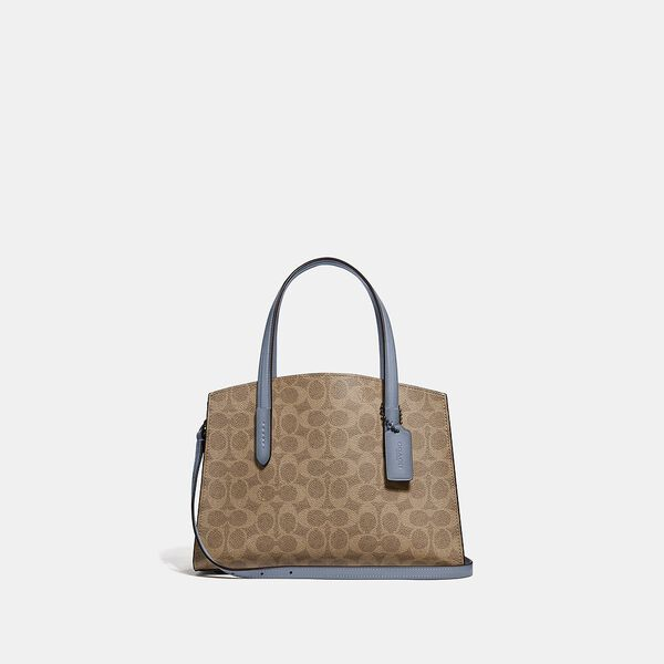 Charlie Carryall 28 In Signature Canvas, V5/Tan Bluebell, hi-res
