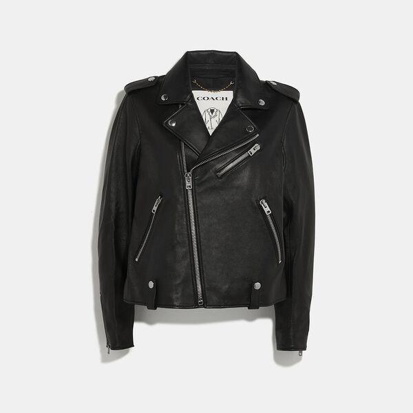 Moto Jacket, BLACK, hi-res