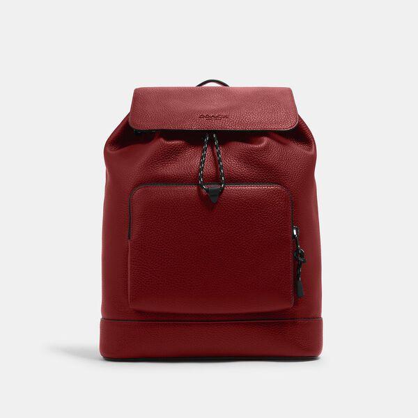 Turner Backpack, QB/1941 RED, hi-res