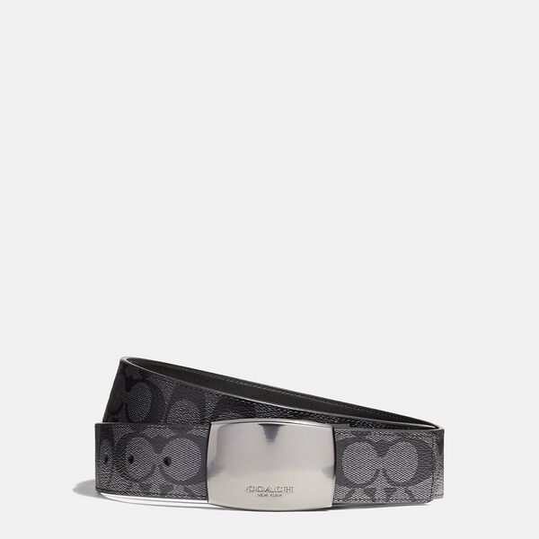 Boxed Plaque And Harness Buckle Cut-To-Size Reversible Belt, 38Mm