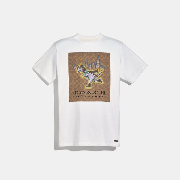 Rexy Signature T-Shirt, WHITE, hi-res