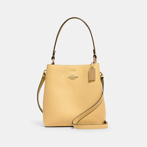 Small Town Bucket Bag, IM/VANILLA CREAM/LIGHT SADDLE, hi-res