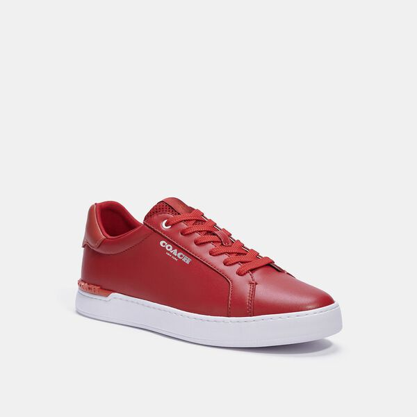 Clip Low Top Sneaker, ELECTRIC RED SUNSTAR, hi-res