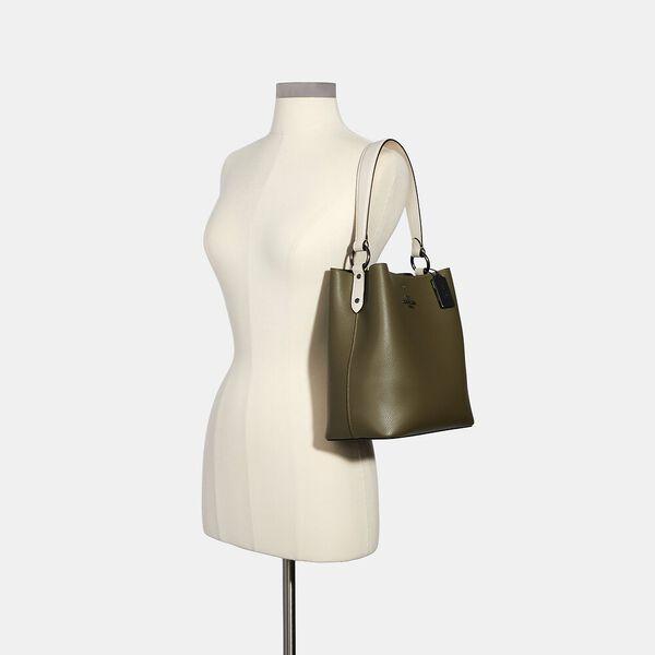 Town Bucket Bag In Colorblock, QB/KELP MULTI BLACK, hi-res