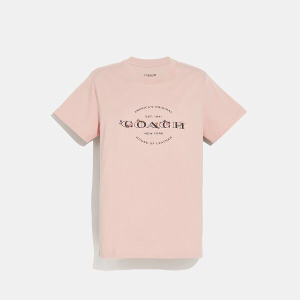 Coach T-Shirt, ROSECLOUD, hi-res