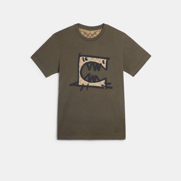 T-Shirt With Rexy By Guang Yu