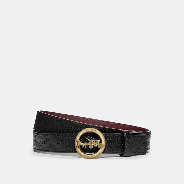 Horse And Carriage Buckle Belt, 25Mm