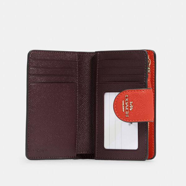 Medium Corner Zip Wallet, IM/MANGO, hi-res