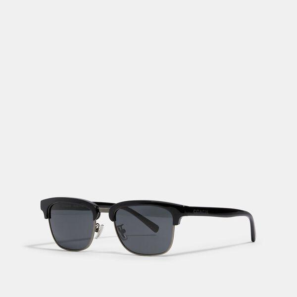 Dean Square Sunglasses, BLACK, hi-res