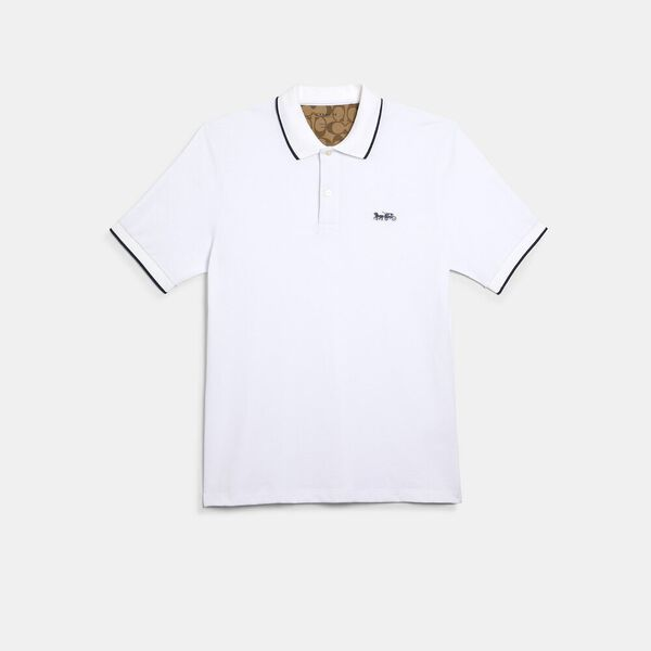 Polo, WHITE, hi-res