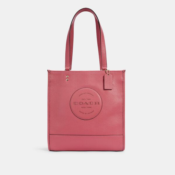 Dempsey Tote With Patch, IM/FUCHSIA, hi-res