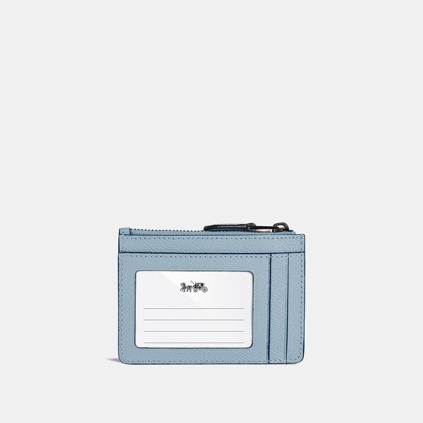 Mini Skinny Id Case, V5/AZURE, hi-res
