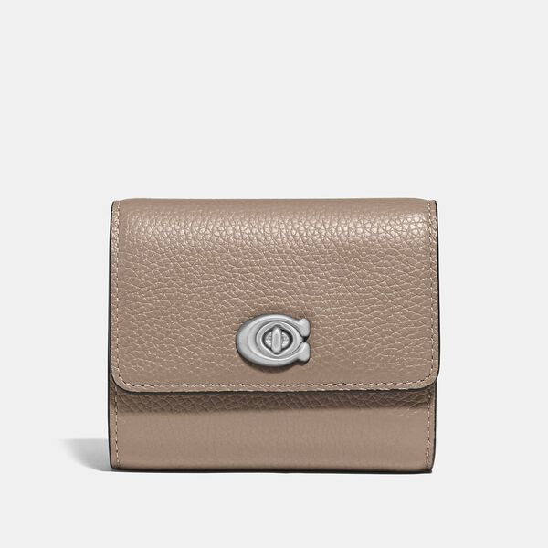 Signature Turnlock Small Wallet