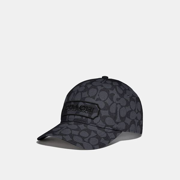 Signature Baseball Hat, CHARCOAL SIGNATURE, hi-res