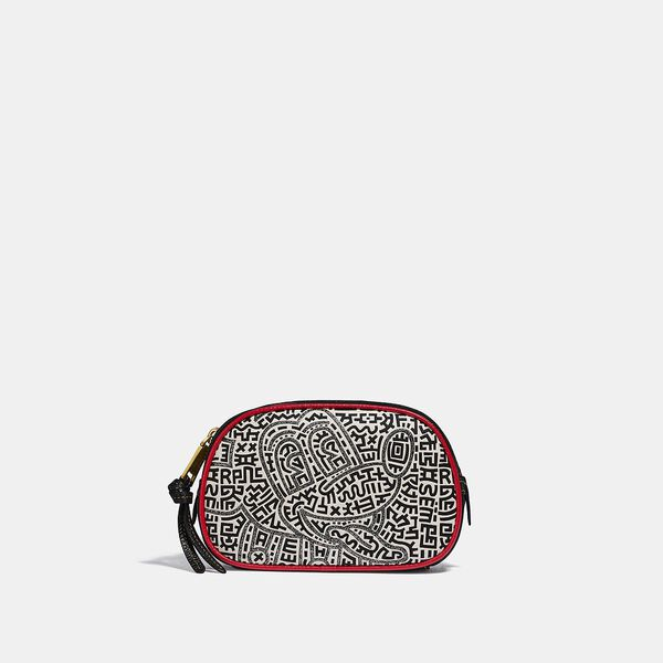 Disney Mickey Mouse X Keith Haring Badge Camera Belt Bag