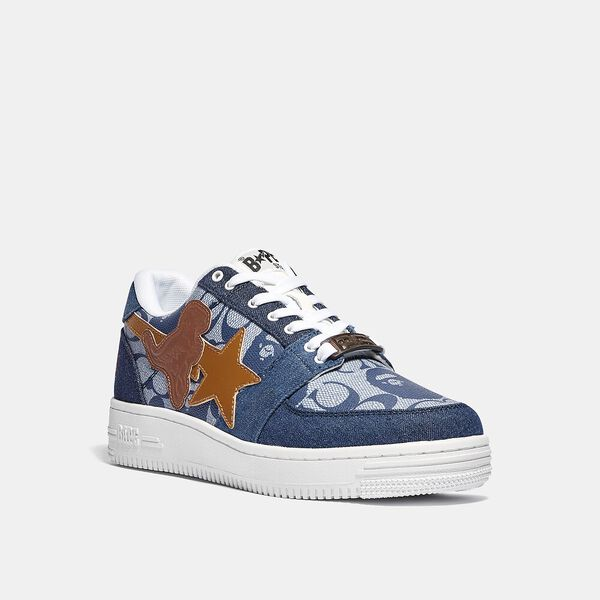 BAPE x Coach Bapesta Sneaker