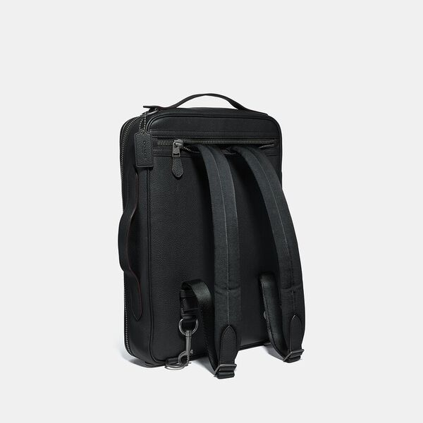Metropolitan Soft Convertible Backpack, QB/BLACK, hi-res