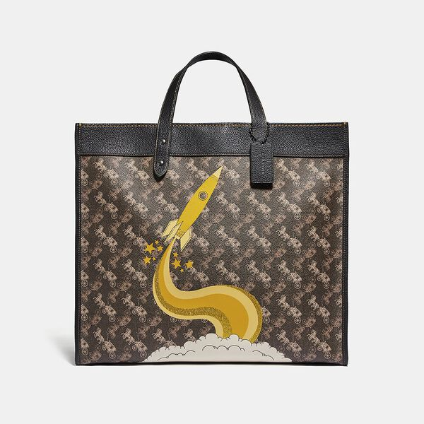 Field Tote 40 With Horse And Carriage Print And Rocket