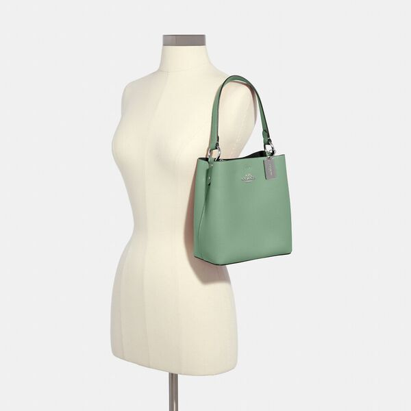 Small Town Bucket Bag, SV/WASHED GREEN/AMAZON GREEN, hi-res