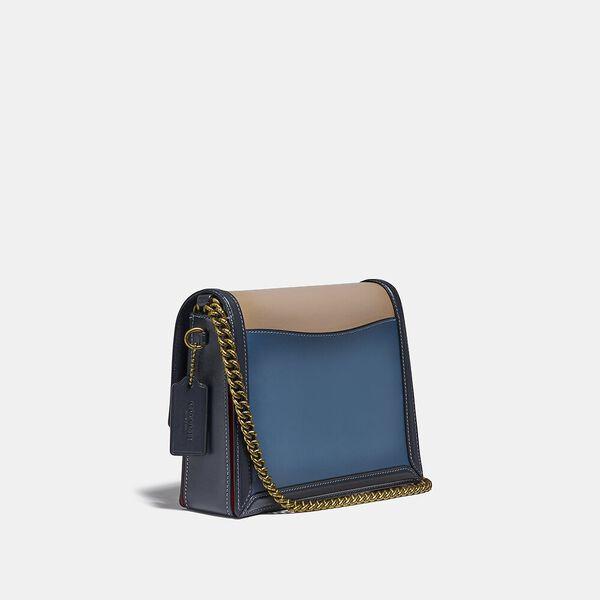Hutton Shoulder Bag In Colorblock, B4/LAKE MULTI, hi-res