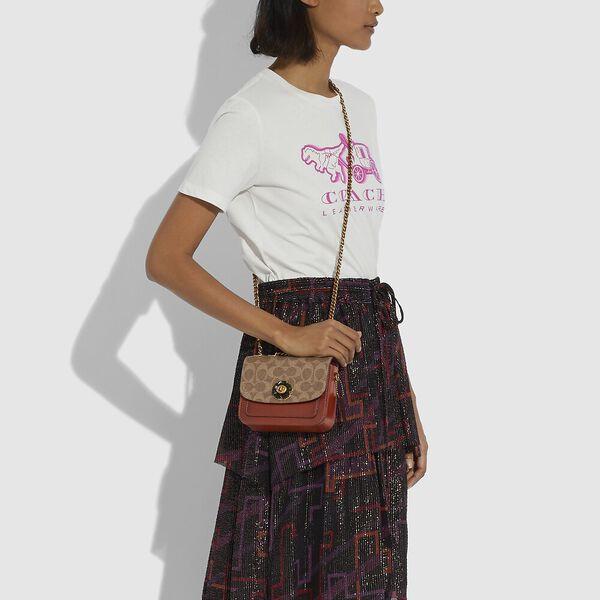 Madison Shoulder Bag 16 In Signature Canvas, B4/TAN RUST, hi-res