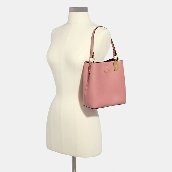 Small Town Bucket Bag, IM/BUBBLEGUM/WINE, hi-res