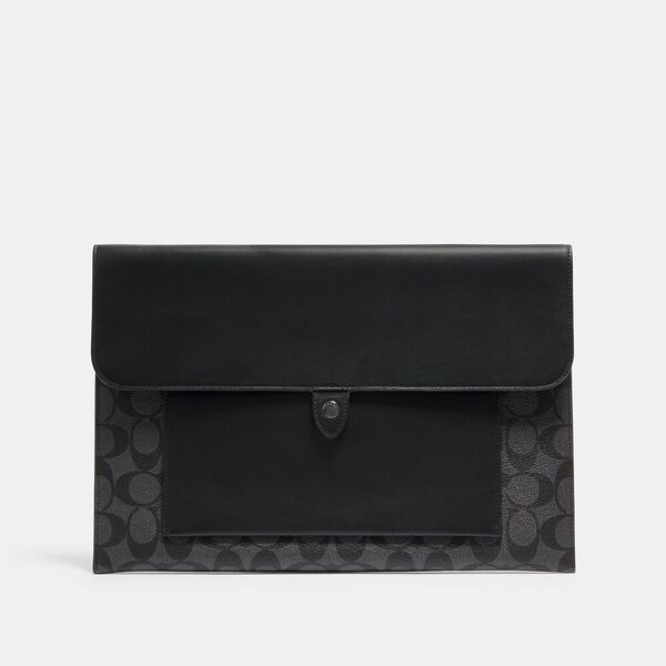 Laptop Sleeve In Signature Canvas