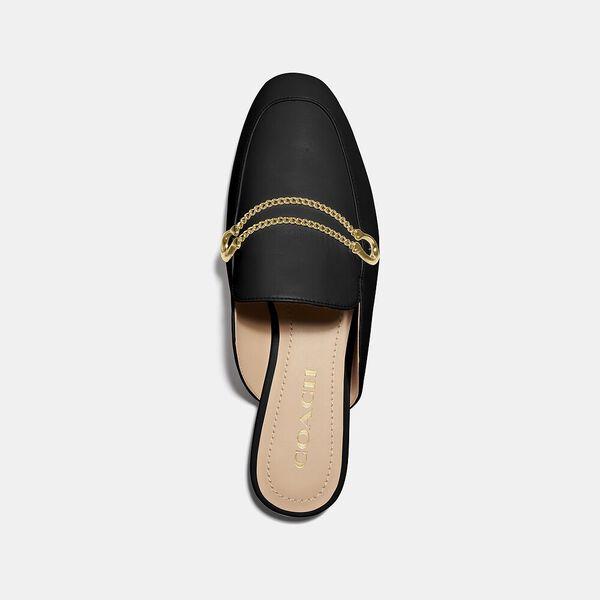 Sawyer Slide Loafer, BLACK, hi-res