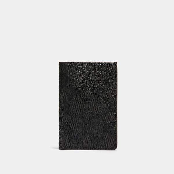 Business Card Case In Signature Canvas