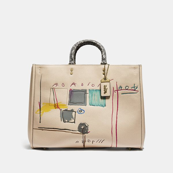 Coach X Basquiat Snake With Snake Handle Rogue Bag 39