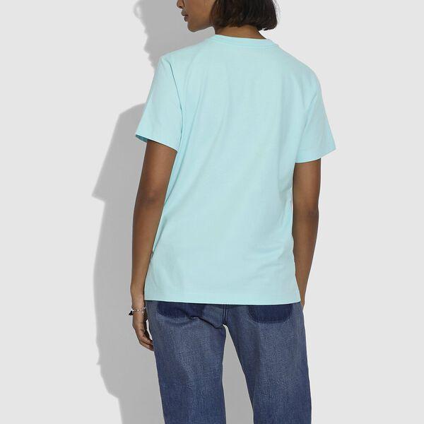 Rainbow City T-Shirt, AQUA, hi-res