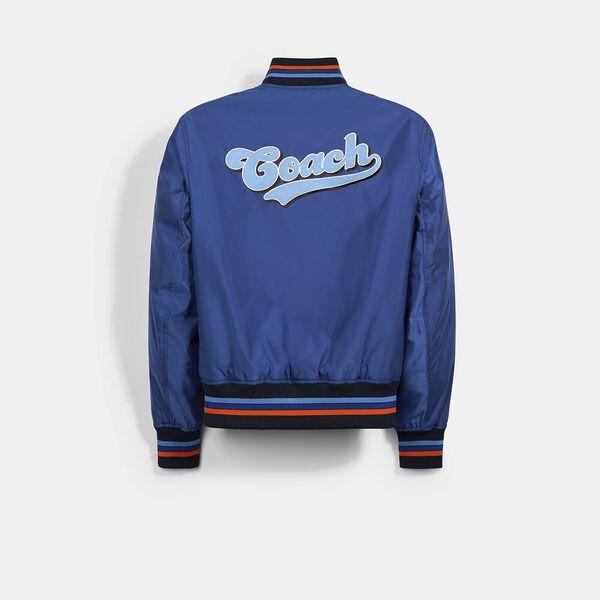 Lightweight Varsity Jacket, BLUE, hi-res
