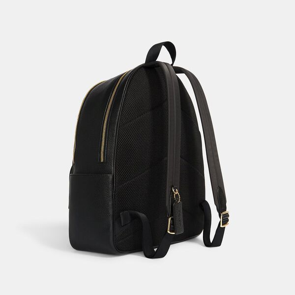 Large Court Backpack, IM/BLACK, hi-res