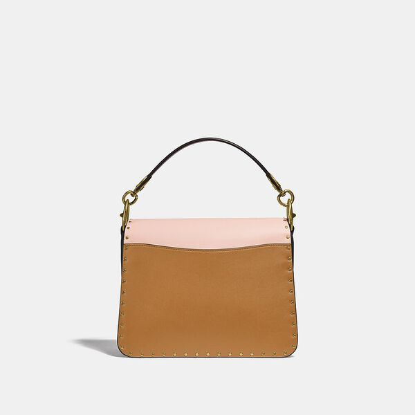 Beat Shoulder Bag In Colorblock With Rivets, B4/BLUSH NATURAL MULTI, hi-res