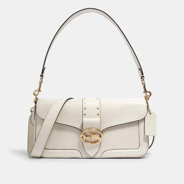 Georgie Shoulder Bag With Rivets